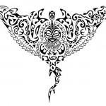 Tribal de Tatuagem Maori.