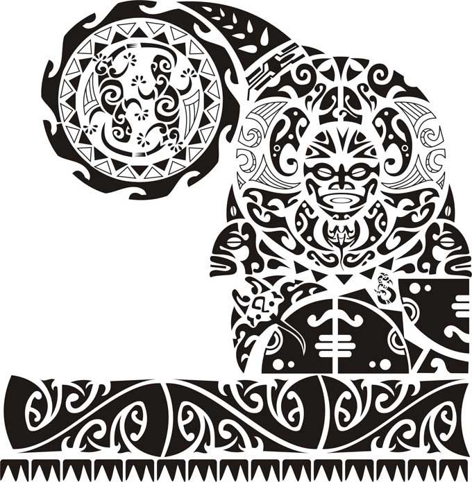 Tatuagem Maori desenhos e significados desta cultura