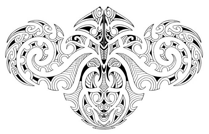 Preferência Tatuagem Maori: desenhos e significados desta cultura WI72