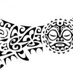 Rascunho pronto de Tatuagem Maori.