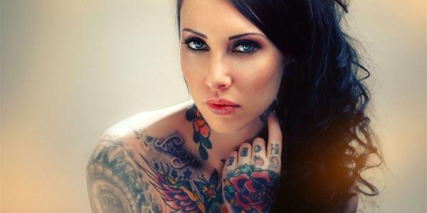 Estilos e tipos de tatuagem para tatuar o corpo.